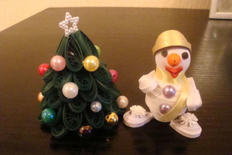 Объемные новогодние поделки снеговика своими руками
