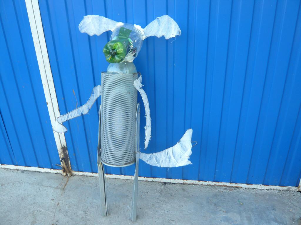 Садовые фигуры из пластиковых бутылок мастер-класс