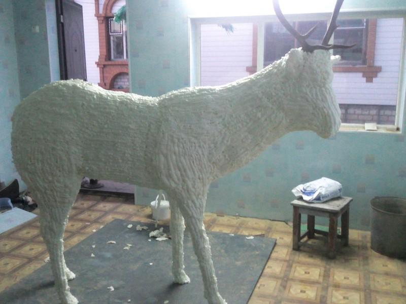 Лошадь из монтажной пены своими руками мастер класс