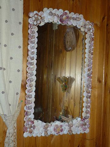 Чем украсить зеркало в прихожей своими руками фото