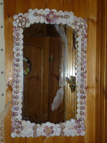 фото декорирование зеркала своими руками