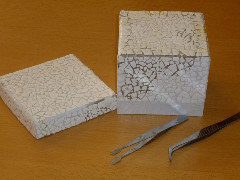 Шкатулка из картона с полочками своими руками мастер класс подробно #7