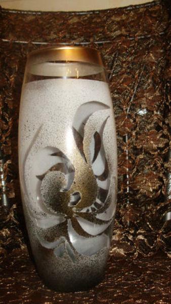 роспись вазы,роспись по стеклу,мастер класс,марокканский стиль,декор вазы,напольная ваза,своими руками,подарки,акриловый контур,точечная роспись,украшение интерьера