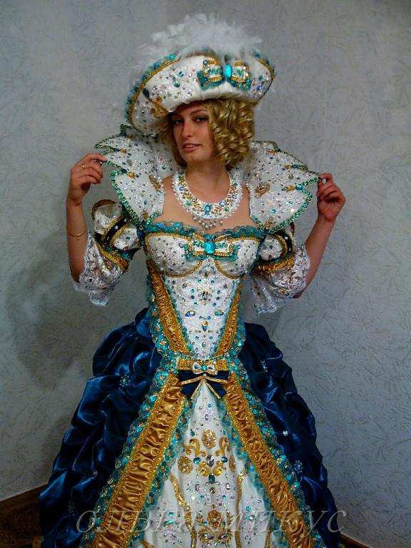 Воротник карнавальный своими руками 44
