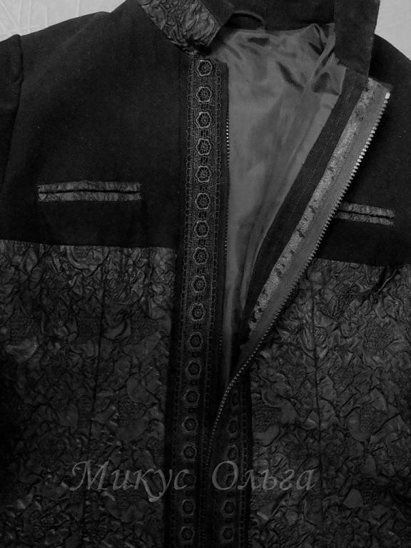 увеличиваем объем верхней одежды за счет молнии,мастер класс,переделка старой одежды в новую,своими руками,как увеличить размер одежды,шитье,пальто,френч,если одежда узкая