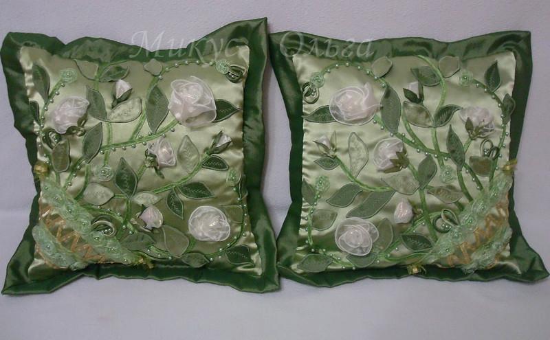 декоративные подушки,мастер класс,своими руками,мк,атласные подушки, диванные подушки, атласные подушки с розами, подушки для дома,шьем подушки сами,шитье, текстиль,украшение интерьера