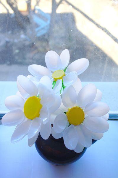 Мастер класс цветы из ложек своими руками