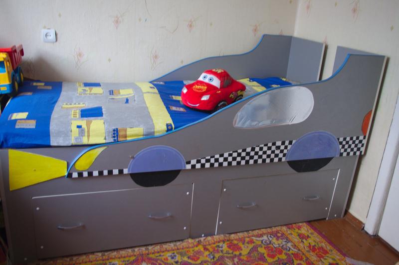 Как сделать кровать своими руками для мальчика
