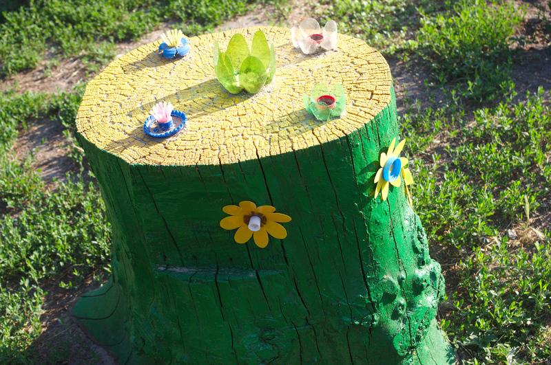 Как можно украсить садовый участок своими руками