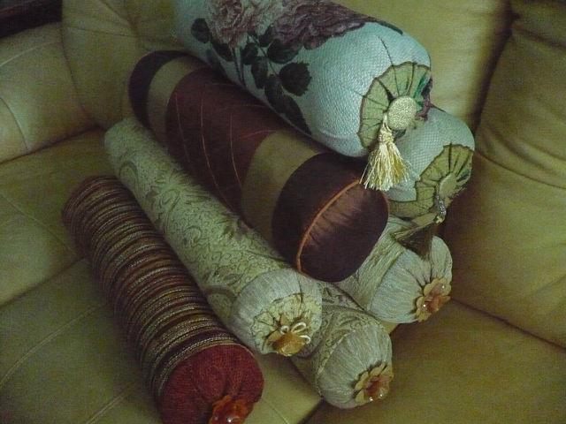 Декоративные диванные подушки сшить своими руками