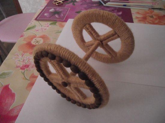 кашпо велосипед из шпагата, своими руками, мастер класс, делаем цветочные горшки, кашпо для цветов, украшение интерьера, декор, оригинальное кашпо, мк